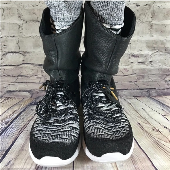 new style c0b2e 9ae7f Nike Roshe Two Hi Flyknit Boots size 7.5